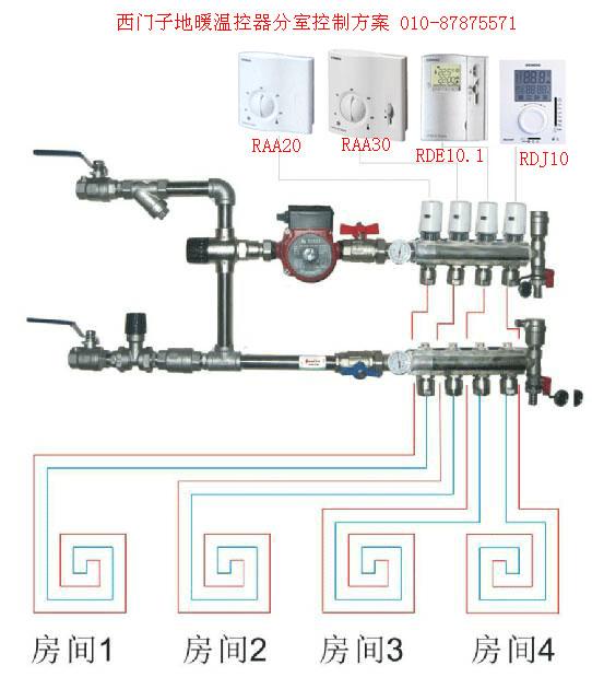 1地暖温控器 壁挂炉温控器